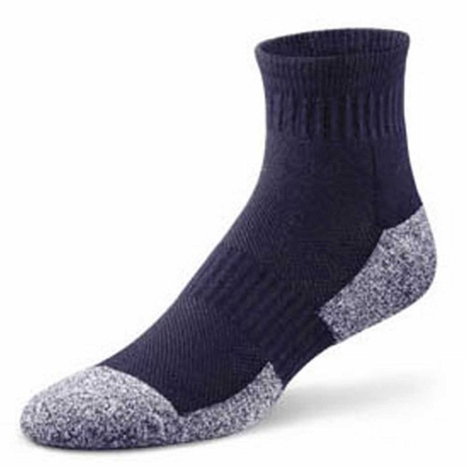 Dr Comfort Ankle Socks (4 Pair) - Men's Therapeutic Diabetic Socks - Athletic, Casual, Dress - X-Small (4) - X-Large (15) at Sears.com