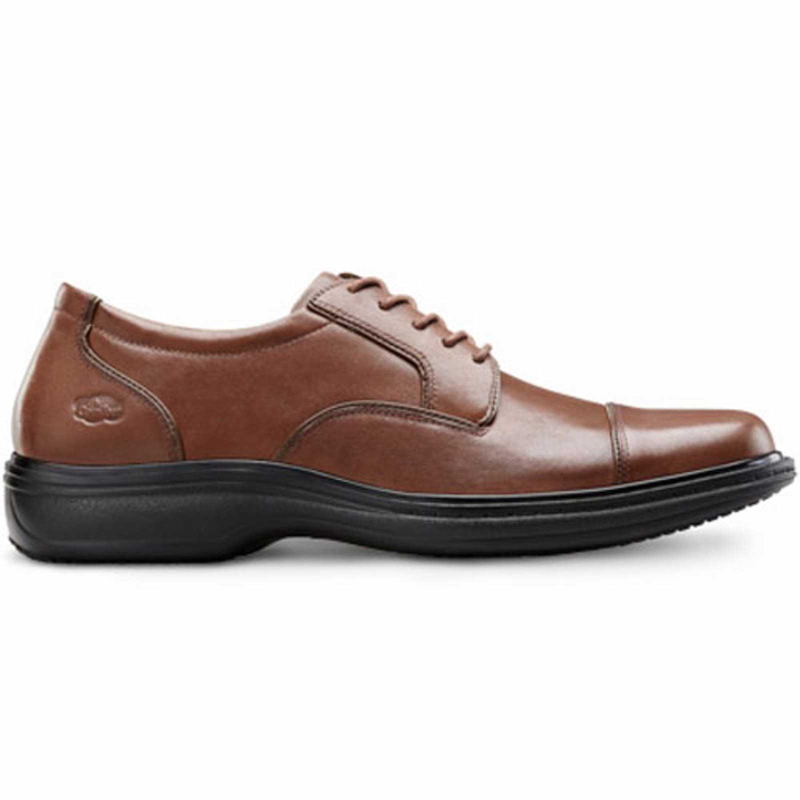 dr comfort captain s therapeutic diabetic dress shoe