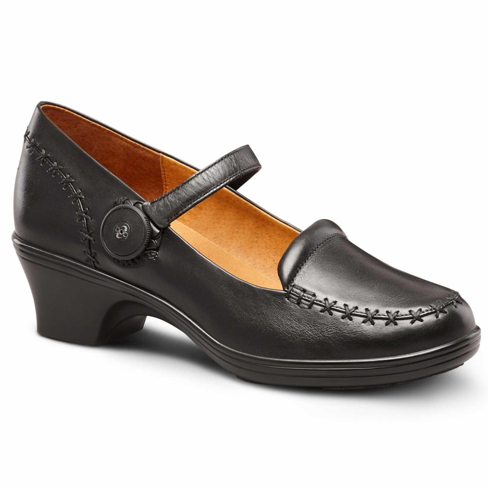 dr comfort cathy s diabetic depth heel dress shoe