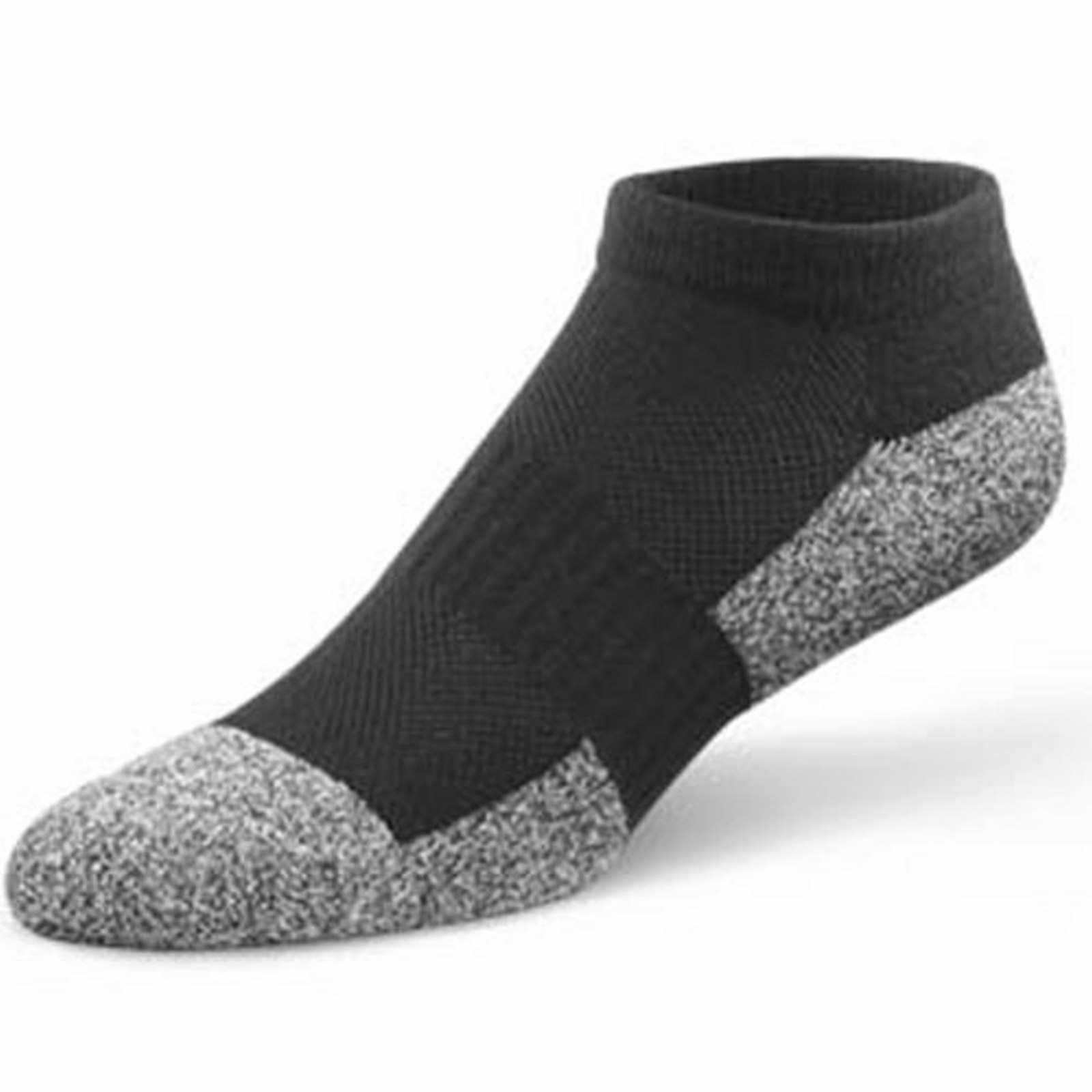 Dr Comfort No-Show Socks (4 Pair) - Men's Therapeutic Diabetic Socks - Athletic, Casual, Dress - X-Small (4) - X-Large (15) at Sears.com