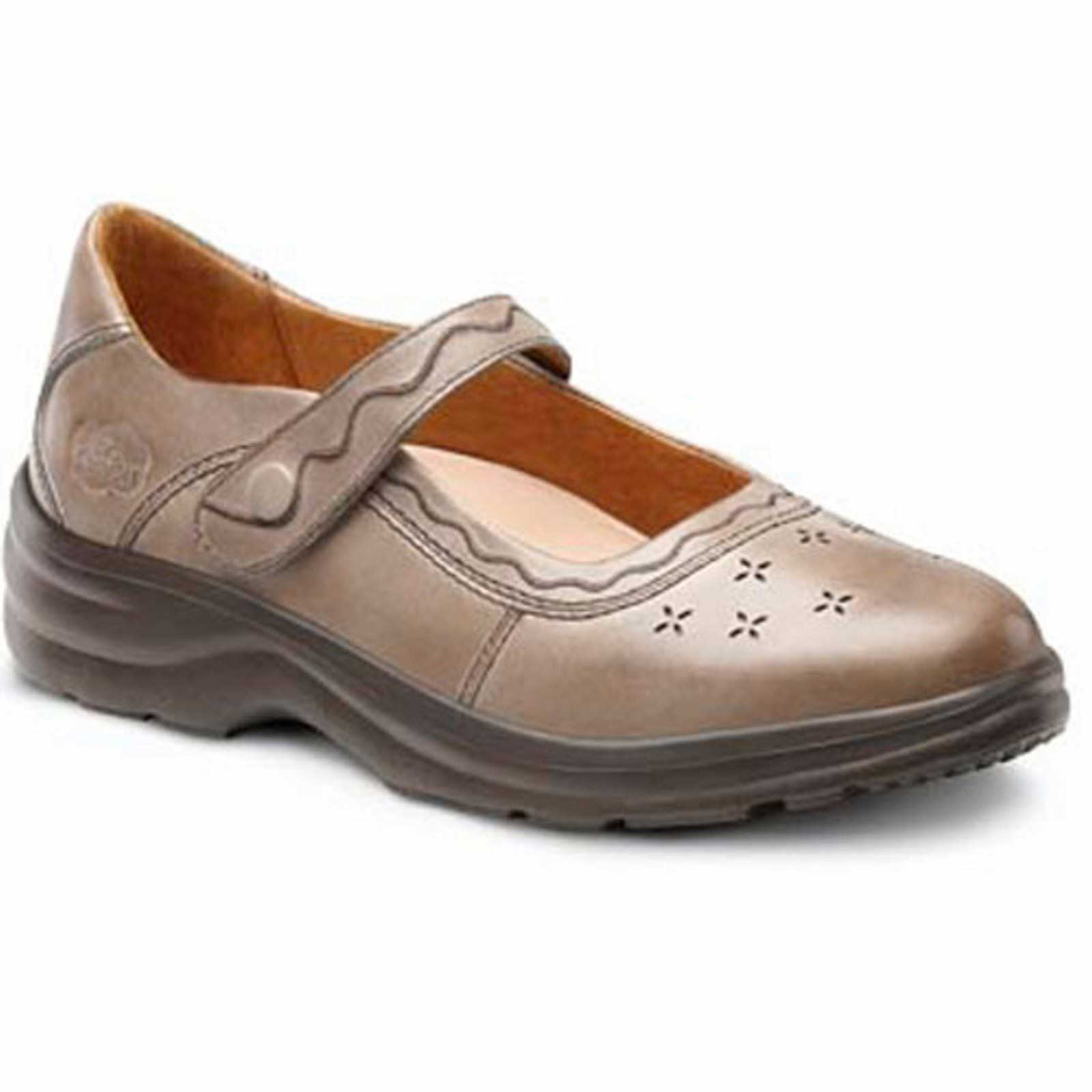 Image is loading Dr-Comfort-Cindee-Womens-Diabetic-Extra-Depth-Heel