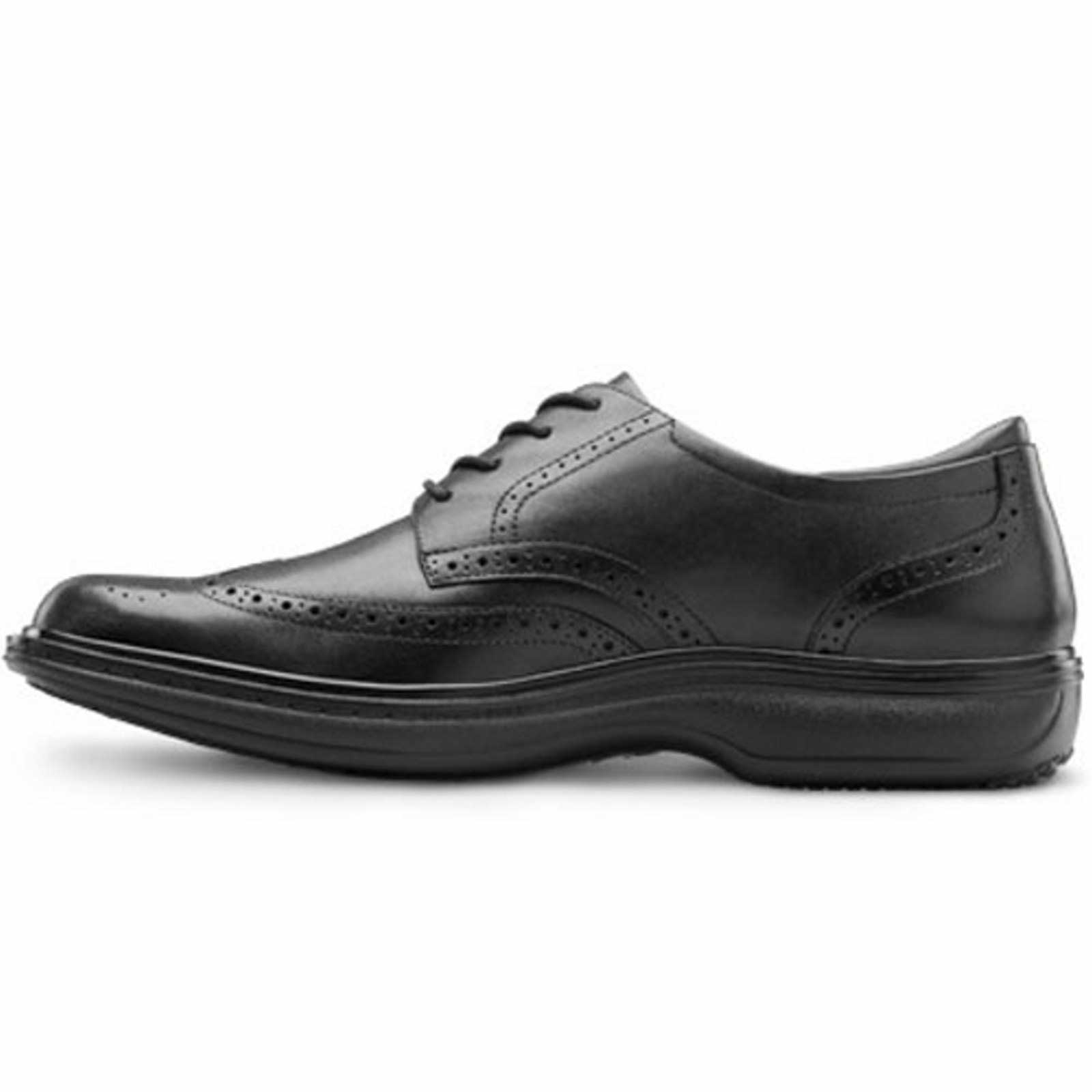Details about Dr Comfort Wing Men s Therapeutic Diabetic Dress Shoe