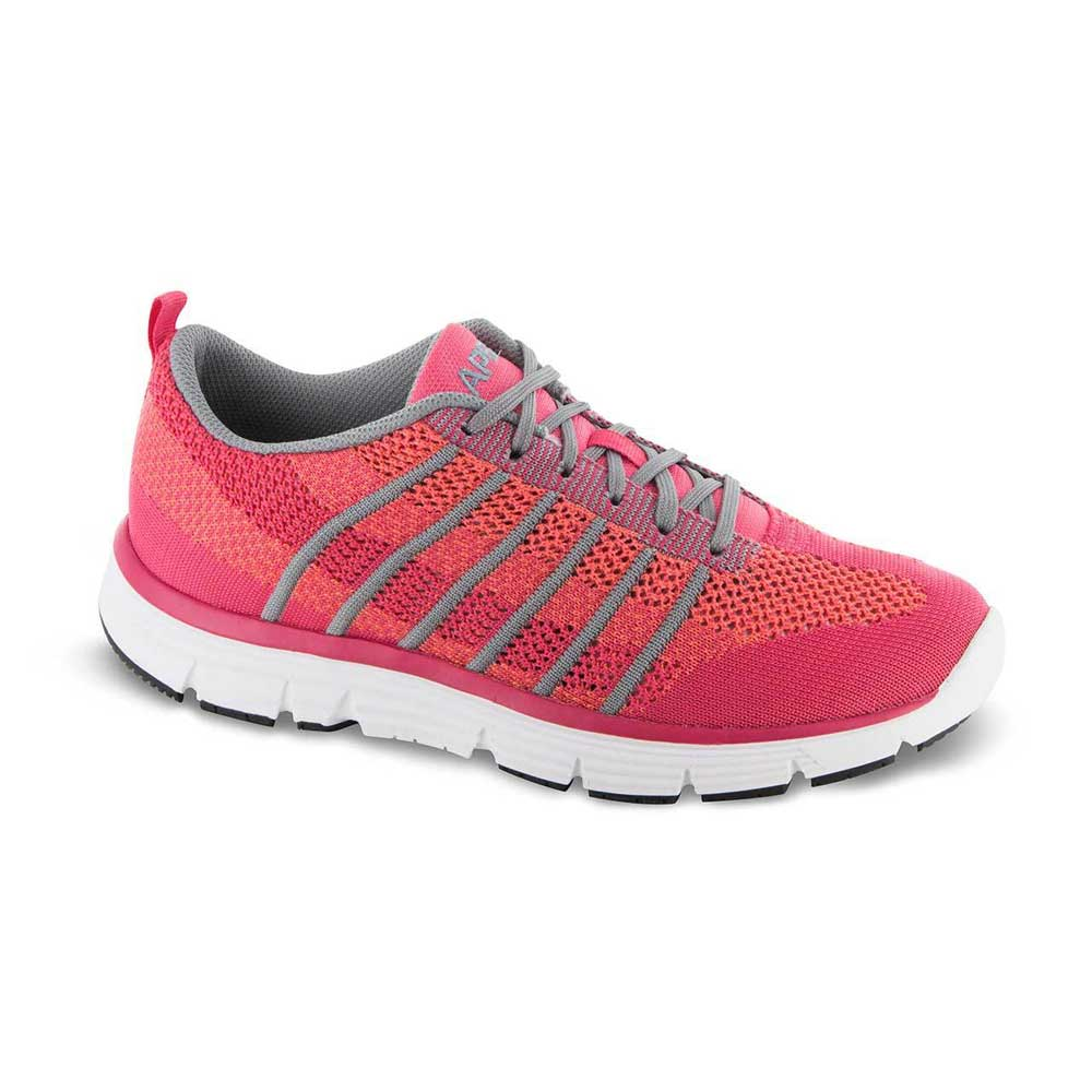 apex shoes athletic knit lace up a7200w athletic walker