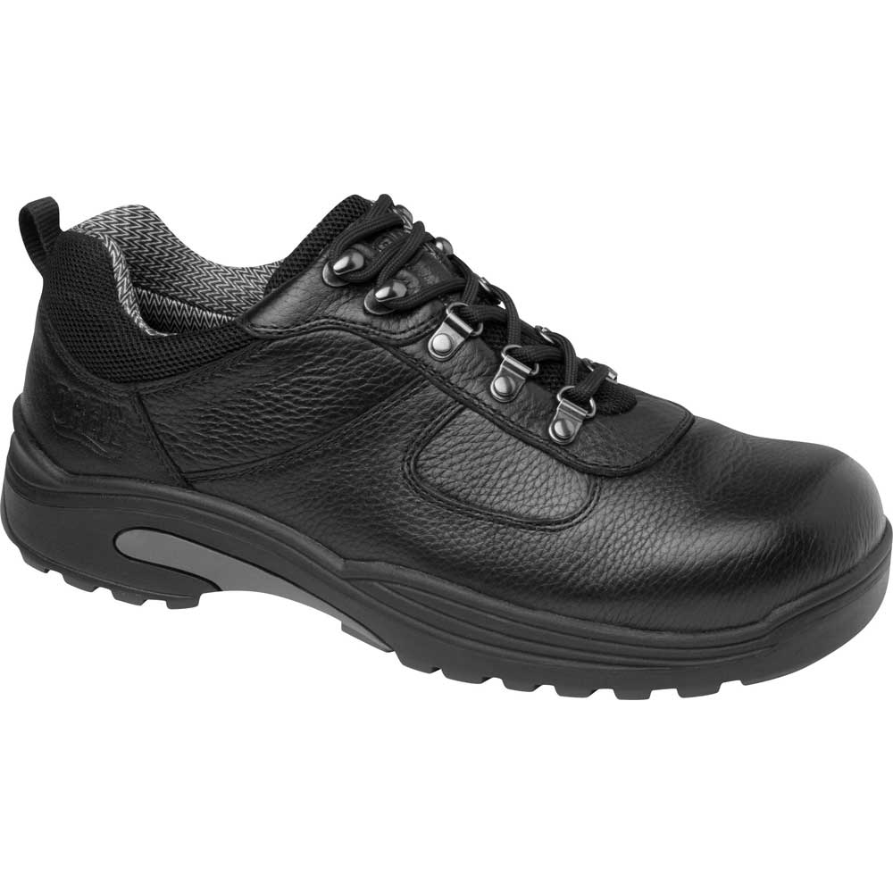Drew Shoes Boulder 40920 - Men's Comfort Therapeutic Diabetic Shoe with Dual Density Inserts - Boot Shoe - Medium (D) - Extra Wide (6E) - Extra Depth for Orthotics