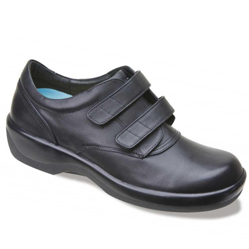 the aetrex ambulator 1260w casual walking shoe diabetic