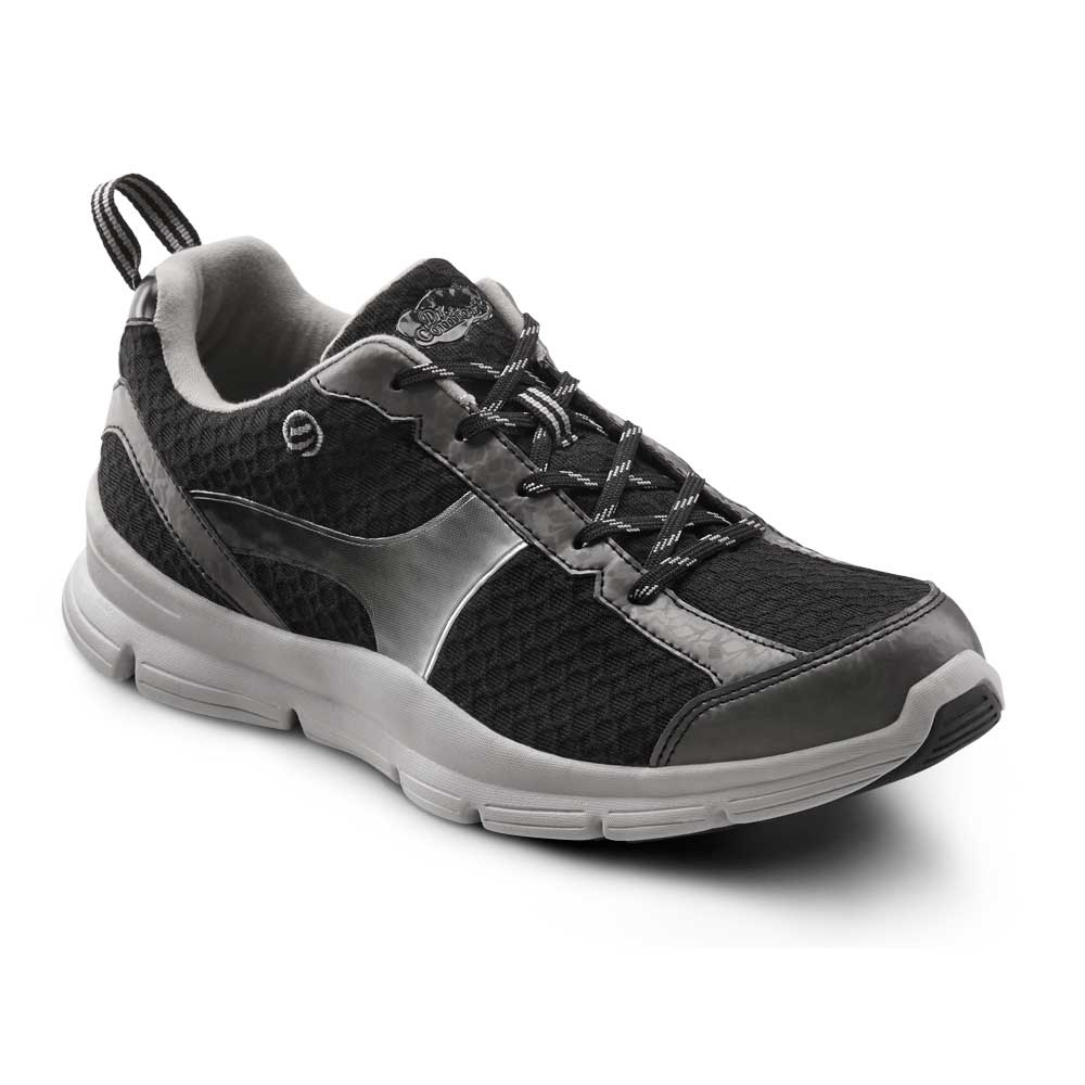 Dr. Comfort Shoes Chris - Men's Comfort Therapeutic Diabetic Shoe with Gel Plus Inserts - Athletic - Medium (B) - Extra Wide (4E) - Extra Depth for Orthotics
