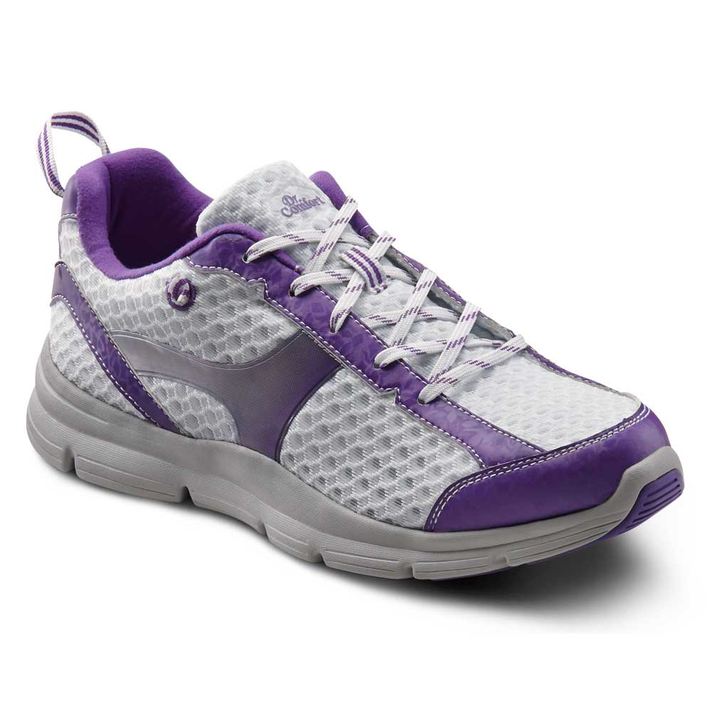 Dr. Comfort Shoes Meghan - Women's Comfort Therapeutic Diabetic Shoe with Gel Plus Inserts - Athletic - Medium (A) - Extra Wide (2E) - Extra Depth for Orthotics