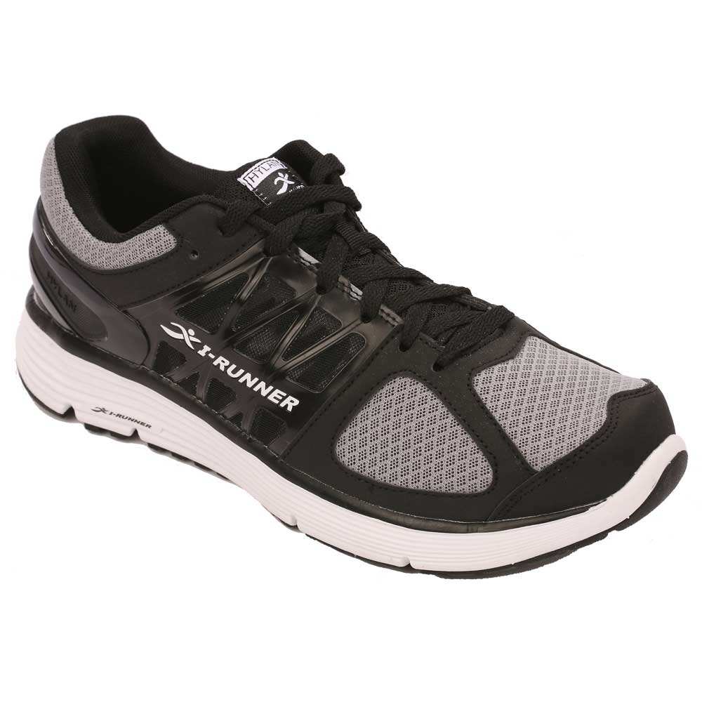 Hylan iRunner Shoes Chaplin Athletic Walker - Men's Comfort Therapeutic Diabetic Shoe - Walking - Medium (D) - Extra Wide (4E) - Extra Depth for Orthotics