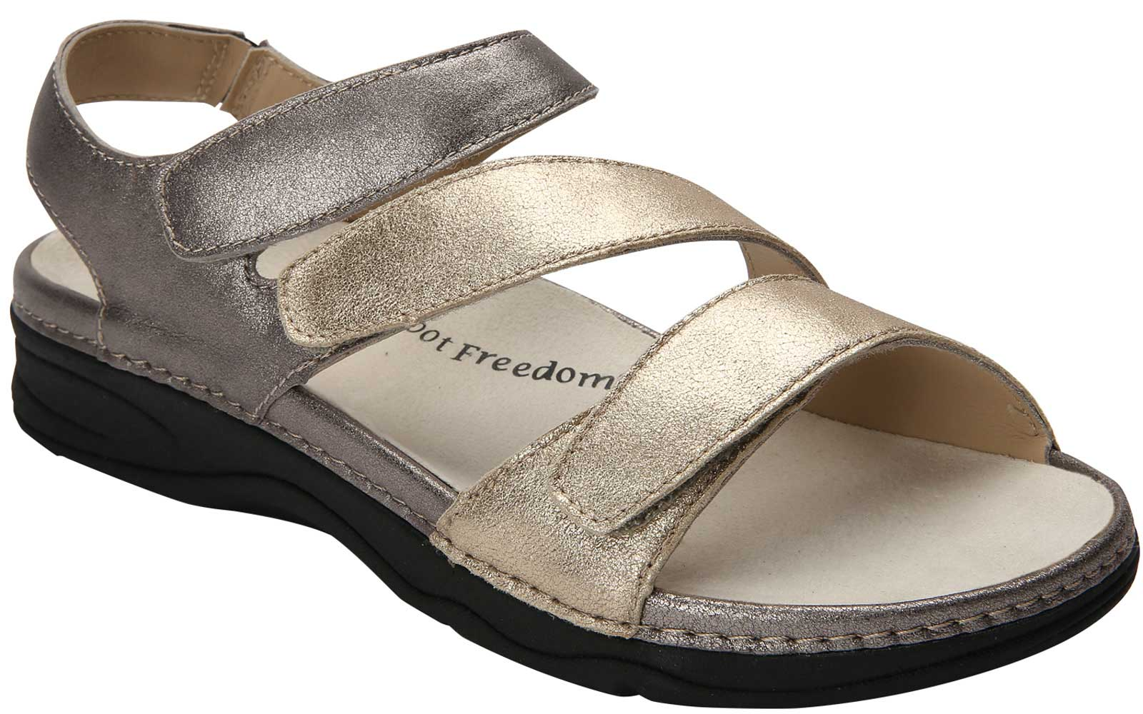 b108717825e6c2 The Drew Shoe - Angela  Our new Angela sandal by Barefoot Freedom offers  the lightweight comfort of a removable ULTRON footbed and the added support  of a ...