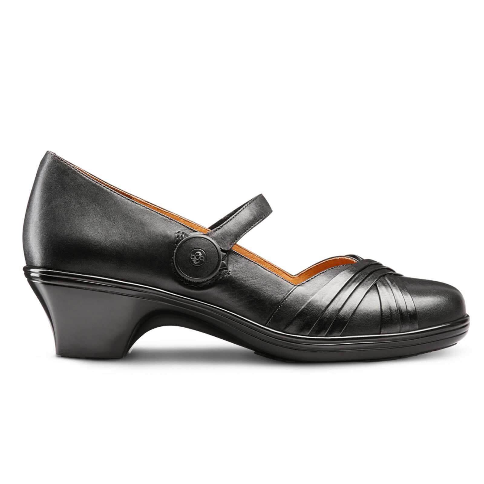 Dr Comfort Cindee Women's Diabetic Extra Depth Heel Dress ...