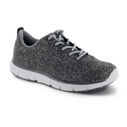 Apex A8100 Shoes Athletic Dark Grey Wool Lace Up