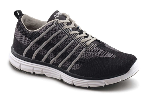 Apex Shoes Athletic Knit Lace Up A7000M