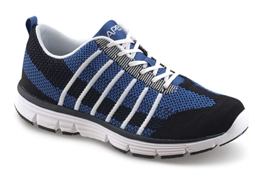 Apex Shoes Athletic Knit Lace Up A7100M