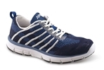Apex Shoes Athletic Knit Lace Up A7100W - Women's Comfort Therapeutic Athletic Shoe - Medium (B) - Extra Wide (3E) - Extra Depth for Orthotics