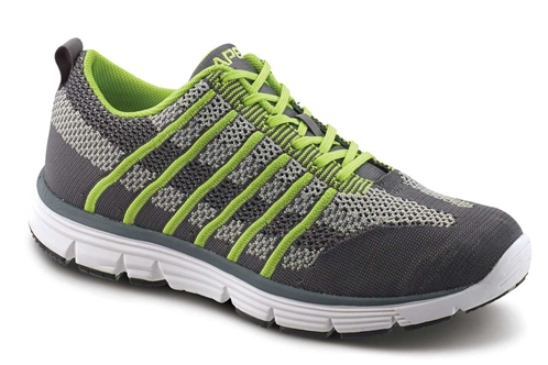 Apex Shoes Athletic Knit Lace Up A7200M
