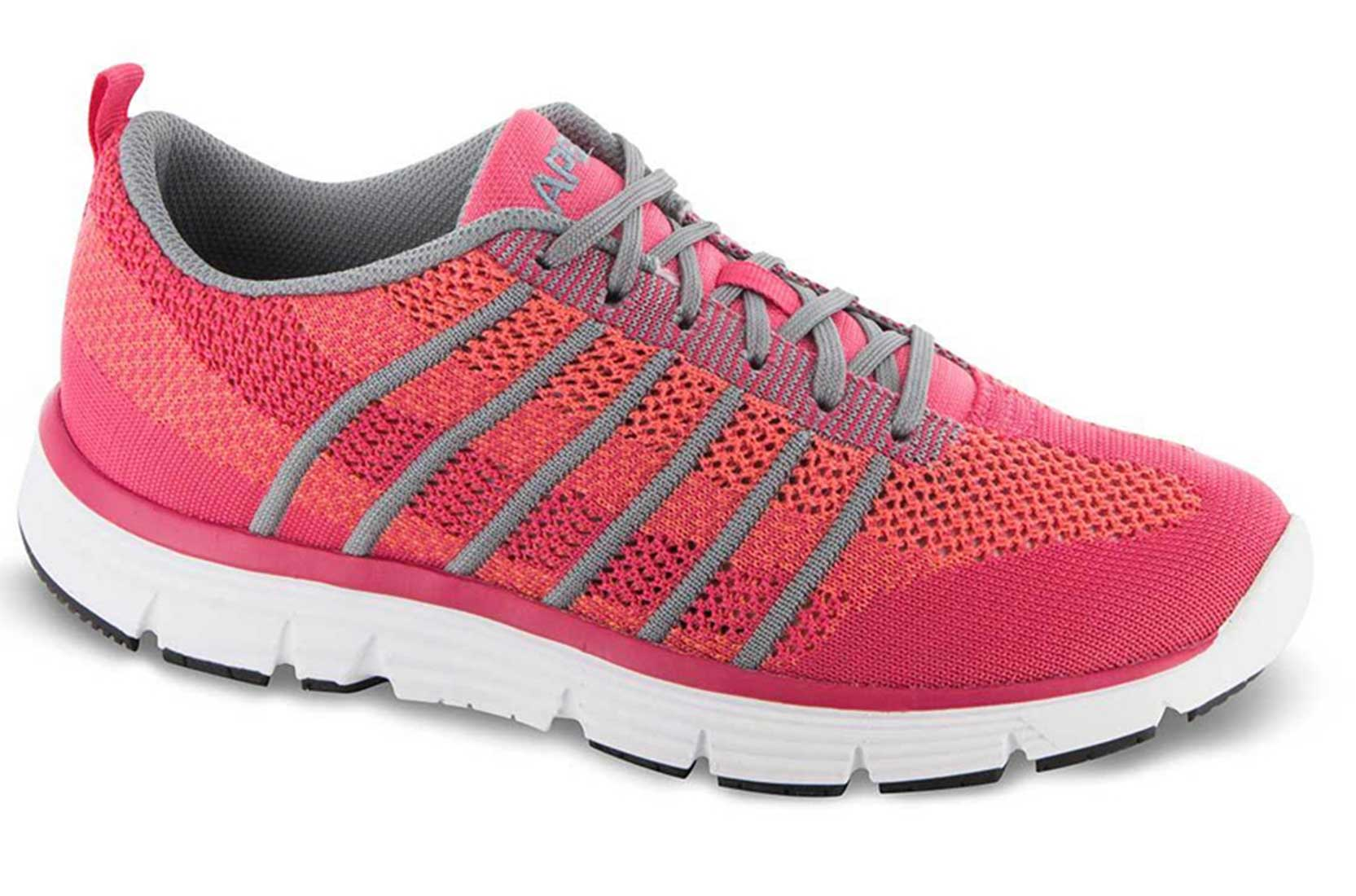 Apex Shoes Athletic Knit Lace Up A7200W