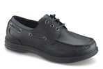 Apex Shoes A1000M Classic Lace Boat Shoe - Men's Comfort Therapeutic Shoe - Medium - Extra Wide - Extra Depth for Orthotics