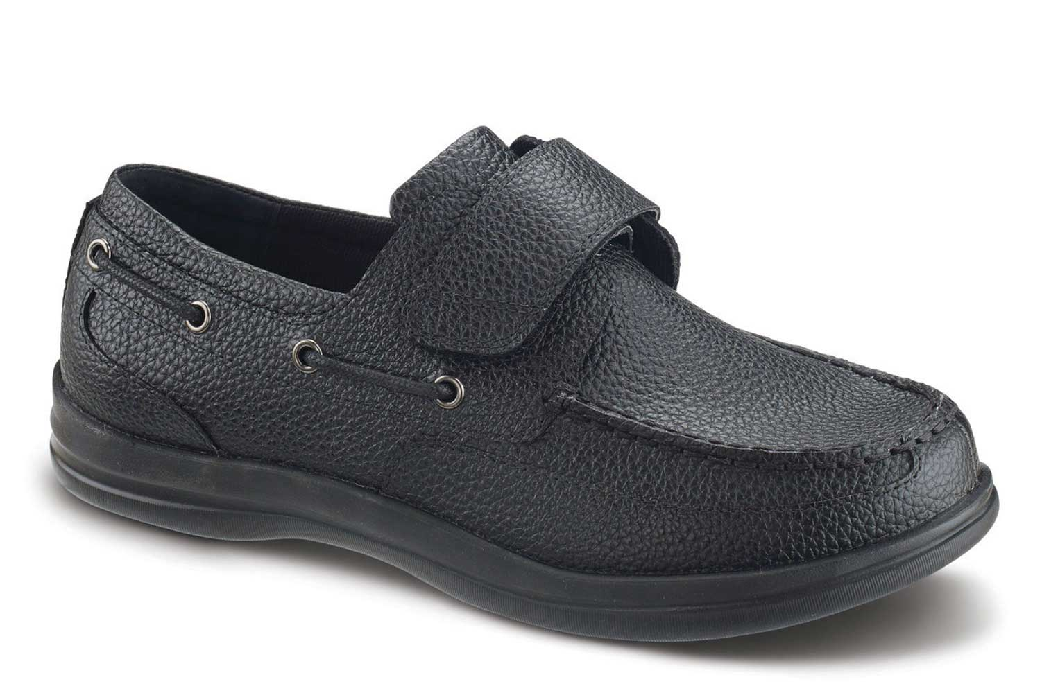 Apex Shoes Classic Strap Boat Shoe A2000M - Casual Walking Shoe