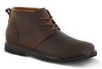Apex Shoes LT410M Hudson Chukka Boot - Men's Comfort Therapeutic Diabetic Shoe - Medium - Extra Wide - Extra Depth for Orthotics