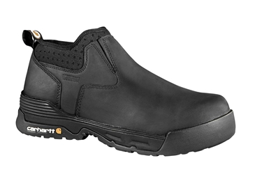 Carhartt Mens Force Work Boot - Black/Oiled Tanned
