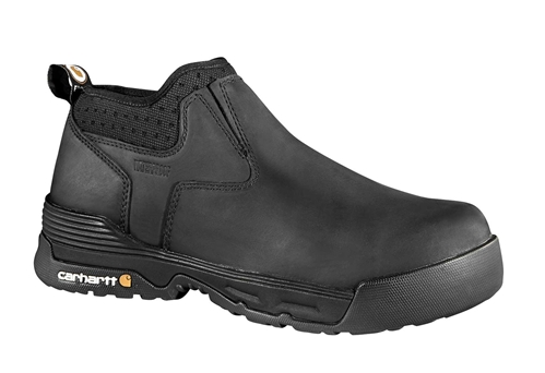 Carhartt Men's Force Work Boot - Black/Oiled Tanned