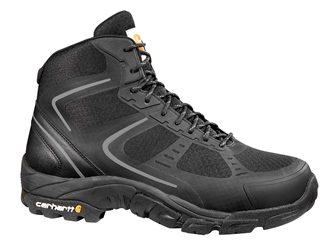 Carhartt Mens Lightweight Black Nylon Mesh NWP Steel Safety Toe Work Hiker