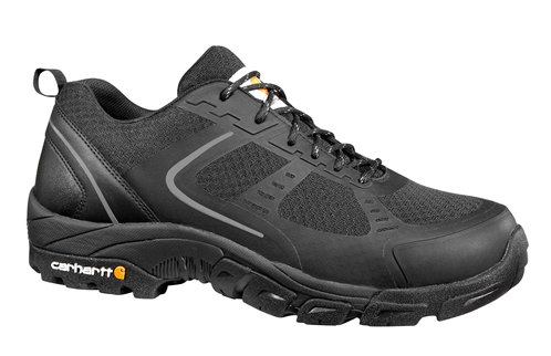 Carhartt Men's Lightweight Low Black Nylon Mesh NWP Steel Safety Toe Work Hiker