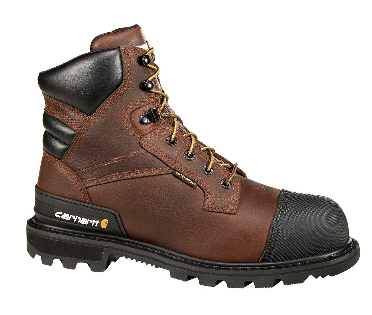 Carhartt - CMR6859 - Puncture Resistant Men s Brown Leather Waterproof Insulated  Steel Safety Toe 6-inch Work Boot d270a0653b14
