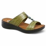 Dr. Comfort Shoes Sharon - Women's Sandal - Open Comfort Collection with Removable Footbeds for Orthotics - Medium - Extra Wide - Extra Depth
