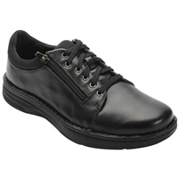 Drew Shoes - Dakota - Black Leather - Casual Shoe