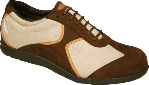 Drew Shoes - Elite - Brown/Tan Combo