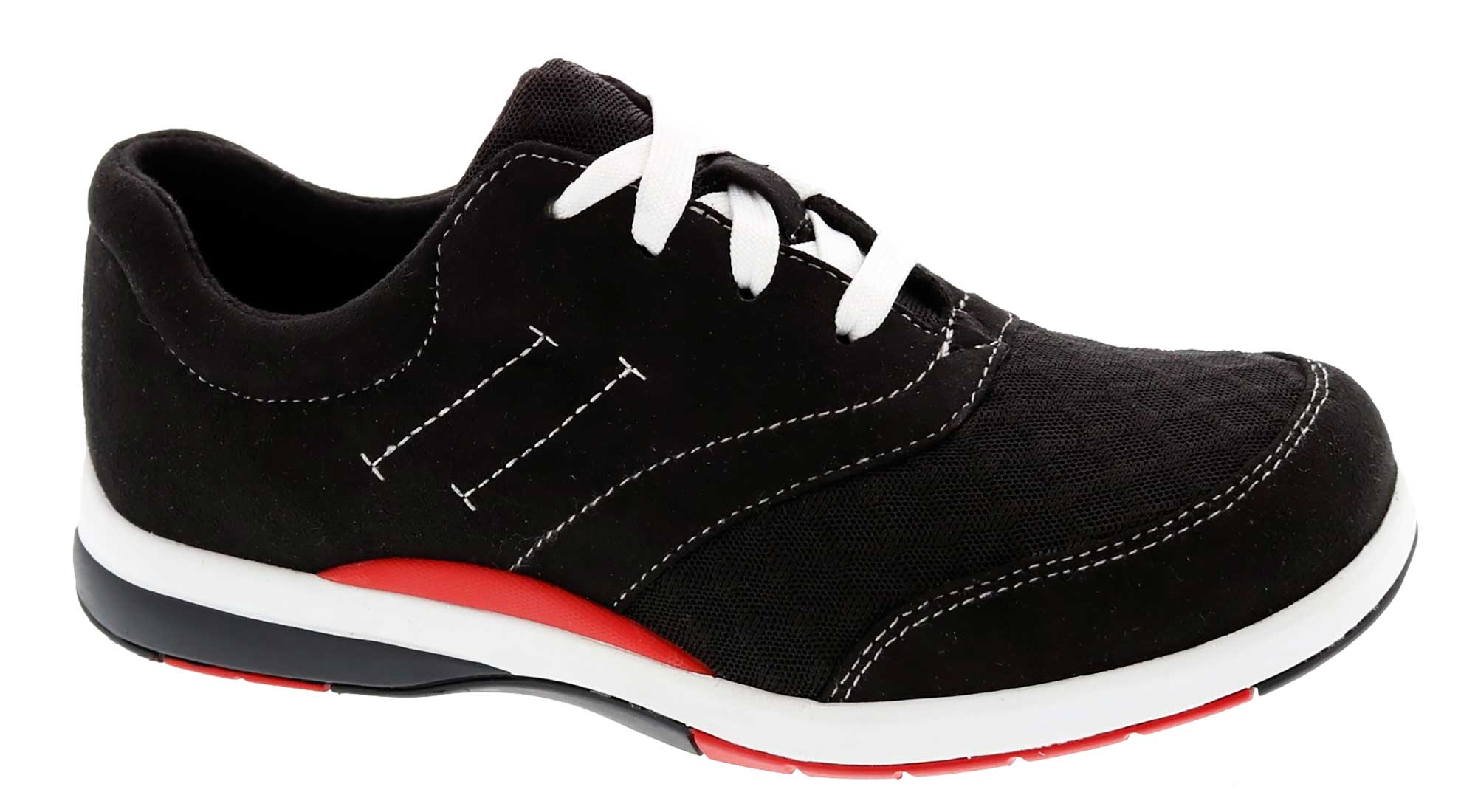Drew Shoes - Enterprise - Black/Micro/Mesh