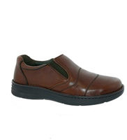 Drew Shoes - Fairfield - Brandy Leather - Casual Shoe