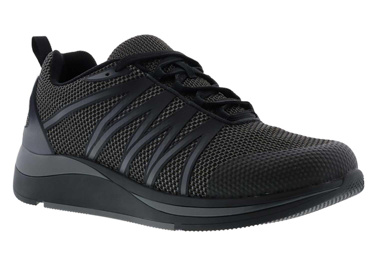 Drew Shoes Player 40105 - Men's Comfort Therapeutic Diabetic Athletic Shoe - Extra Depth for Orthotics