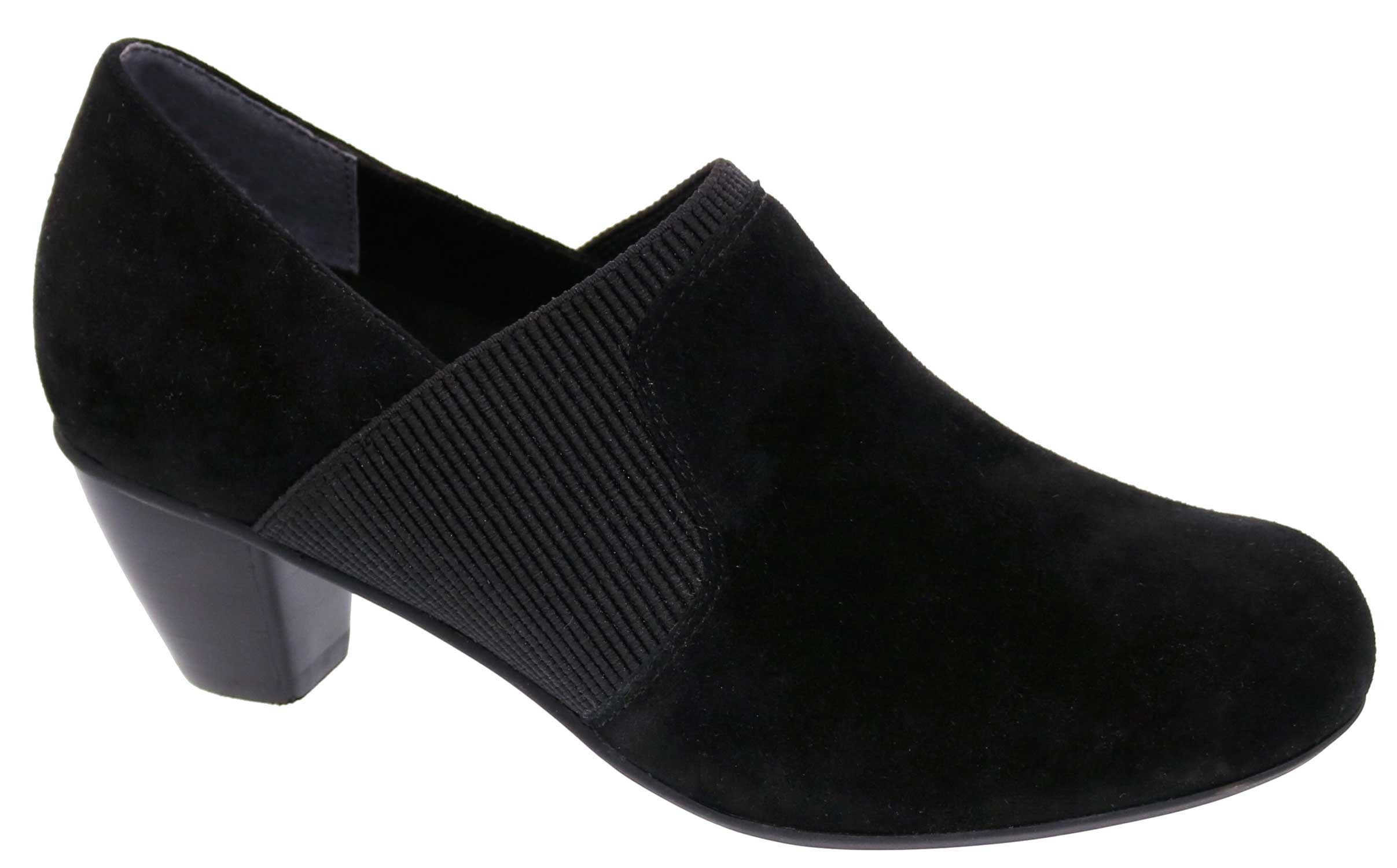 Women's Drew Shoe - Black Suede Pump