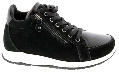 Drew Shoes Strobe - Black/Suede/Combo