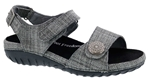 Drew Shoes Walkabout 19177 - Women's Casual Comfort Therapeutic Diabetic Sandal - Extra Depth for Orthotics