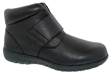 Footsaver - Bridge - Black Leather