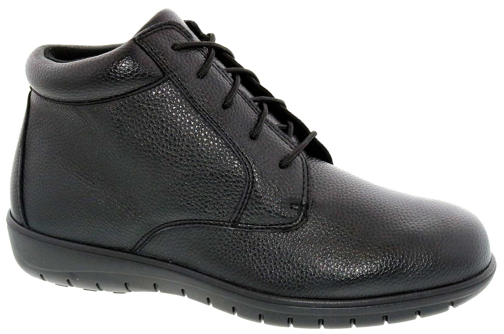Footsaver - Domino - Black Leather