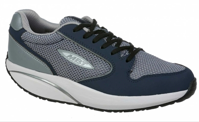 Mens MBT 1997 Classic Navy/Pewter Casual Sneakers