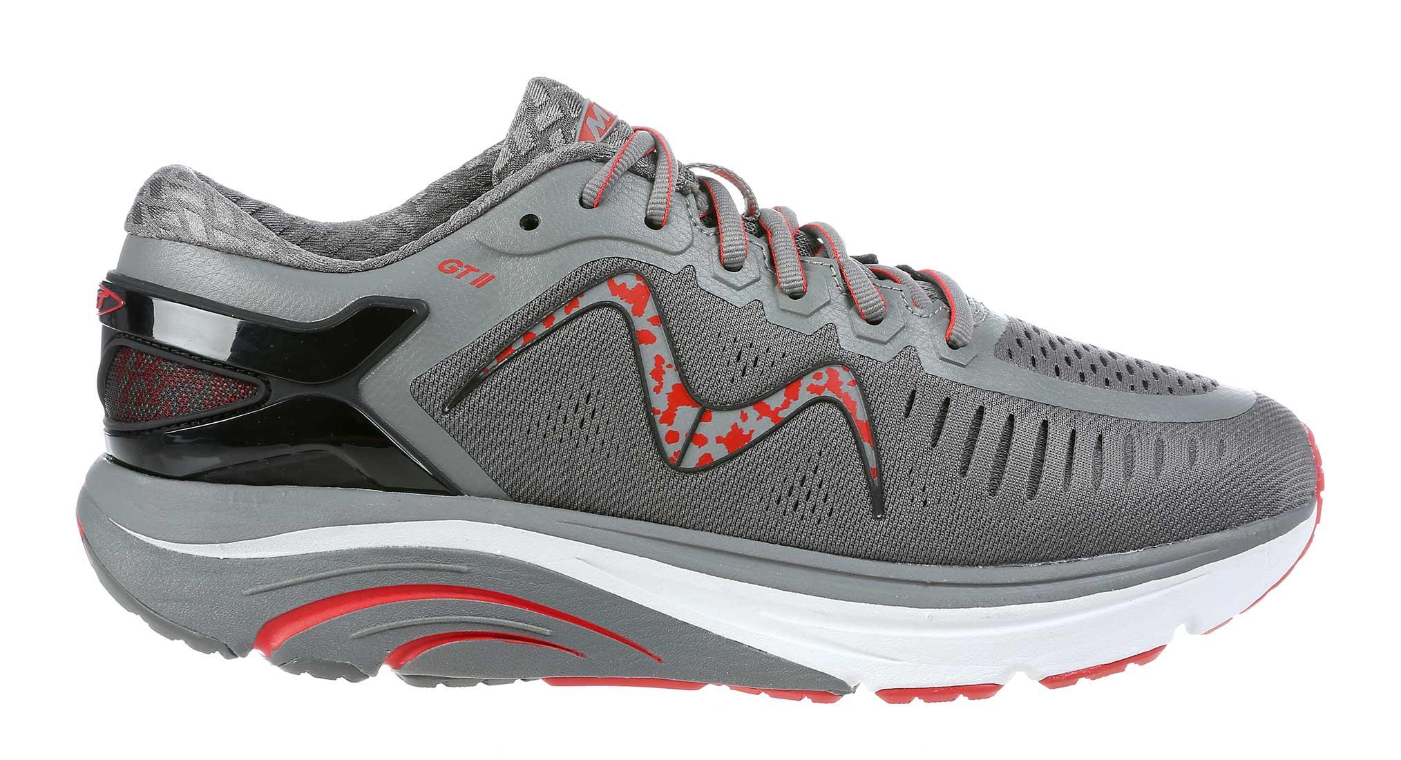 MBT Shoes Men's GT 2 Running Shoes 702023 Men's Comfort Therapeutic Rocker Bottom Shoe Medium