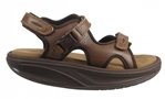 MBT Shoes Women's Kisumu 3S Leather Sandal - 700262 - Women's Comfort Therapeutic Rocker Bottom Sandal - Medium