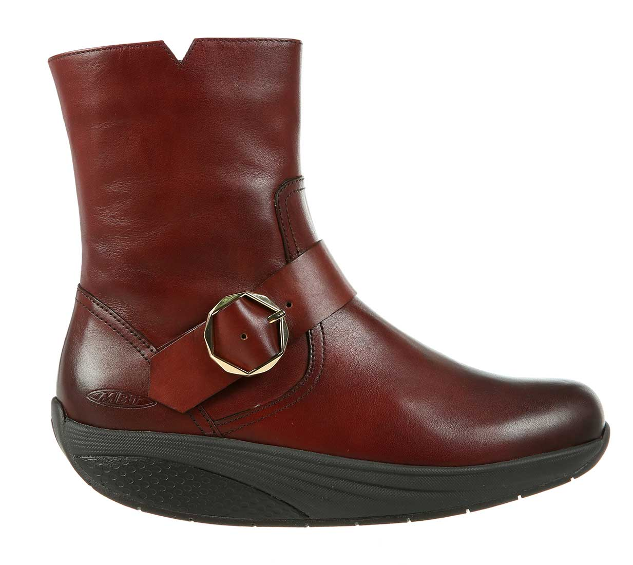 dab5bc067b62 ... MBT Shoes Women s Magee Dress Boots - Burnished Dark Brown Nappa ...
