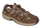 Orthofeet Shoes Alpine 593 - Men's Comfort Therapeutic Diabetic Shoe - Sandal Shoe