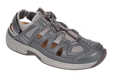 Orthofeet Alpine 598 Grey - Sandal Shoe
