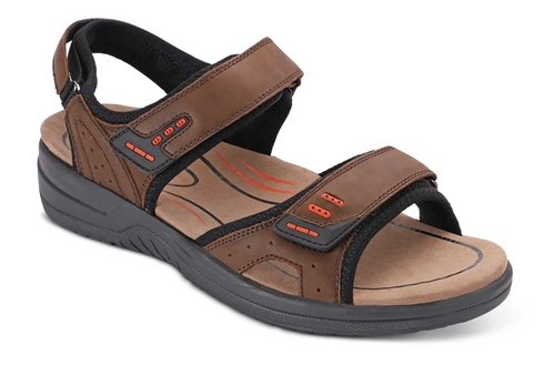 Orthofeet Cambria Brown - Sandal Shoe