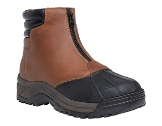 Propet Blizzard Mid Zip - Brown/Black