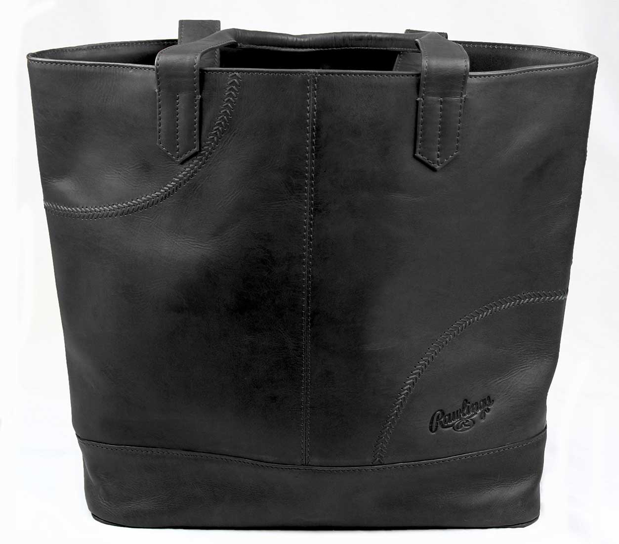 Rawlings - RB60001-001 - Rawlings Vintage Leather Womens Large Tote Bag