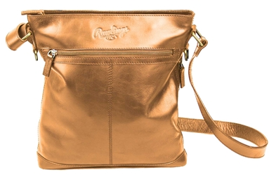 Rawlings - RB60002-204 - Rawlings Vintage Leather Baseball Stitch Crossbody Bag
