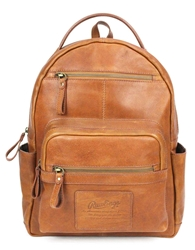 Rawlings Rugged Vintage Medium Leather Backpack